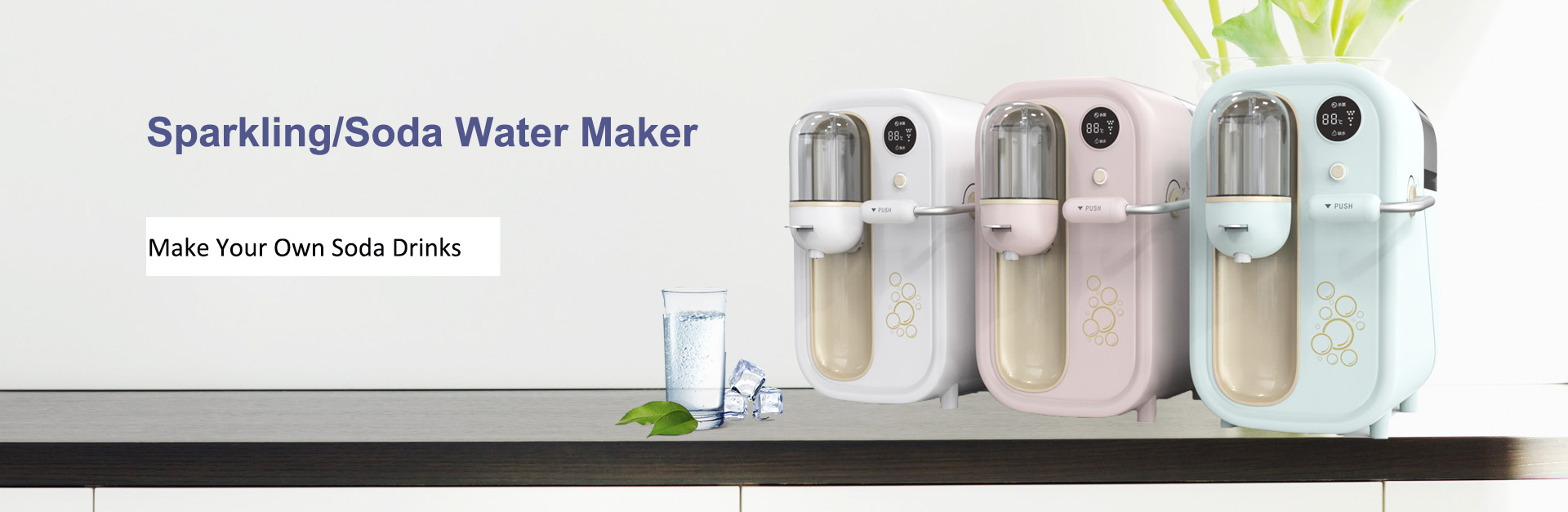 Sparkling Soda Water Maker